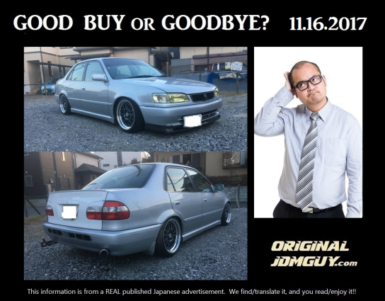 FOTD 2017.11.16 (AE111 corolla GT sedan) FINAL