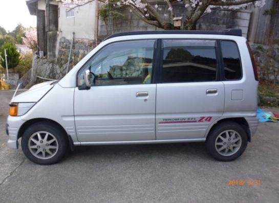 1996 Daihatsu Move Z4 turbo 4WD | original JDM guy